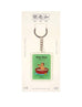 Baby Talk Orh Orh/ Pom Pom Keychain in green