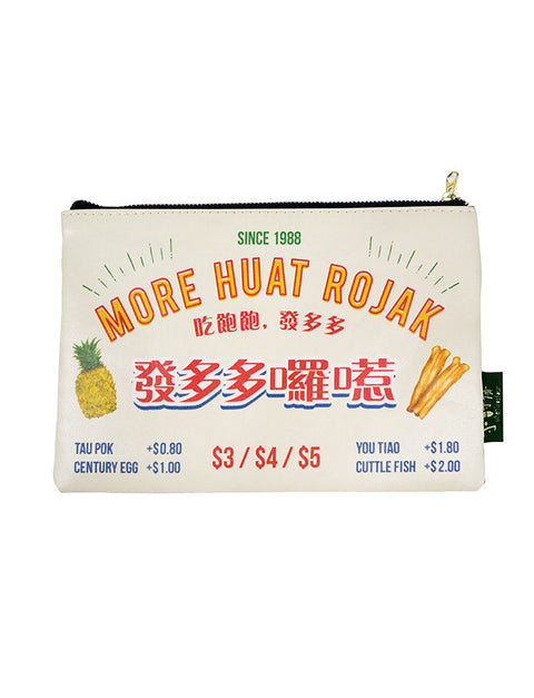 Local rojak dish pouch as Singapore souvenirs
