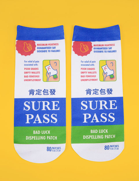 Funny salonpas socks for your friends