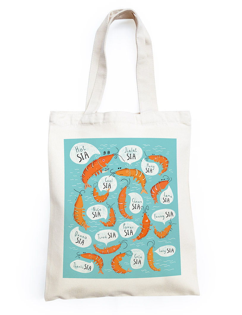 Singlish Tote Bag - Sia