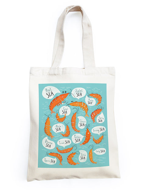 singlish sia tote bag