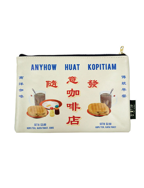 Singapore Kopitiam Multi-Purpose Pouch