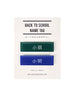 Singapore Back-to-School Name Tags - 小明, 小丽