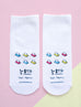 'hao lian' girl socks back