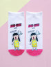 'hao lian' girl socks