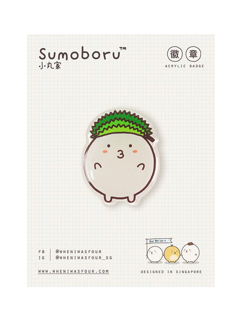 Durian Fishbo Pin