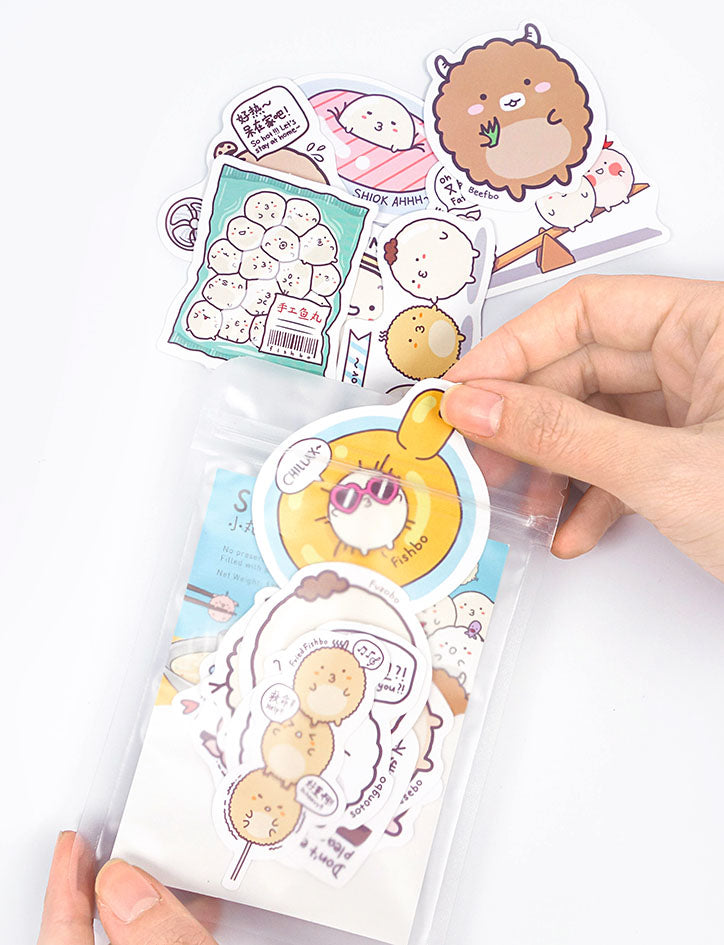 Sumoboru Stickers Pack (16 stickers)