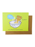 valentines day greeting card soymilk youtiao