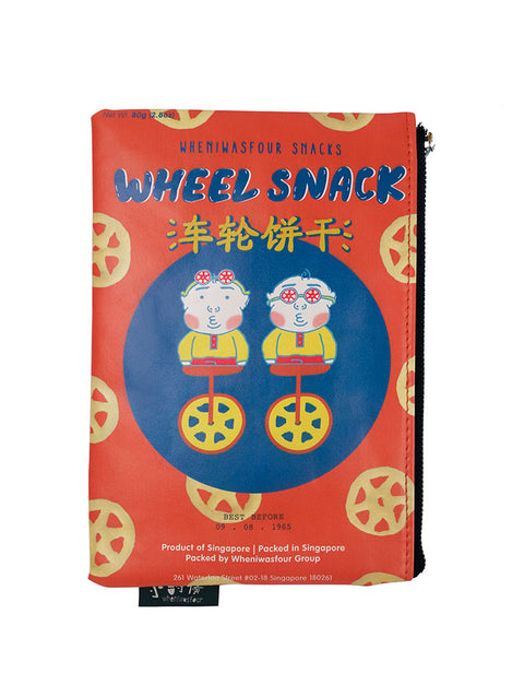 singapore nostalgic wheel snack pouch