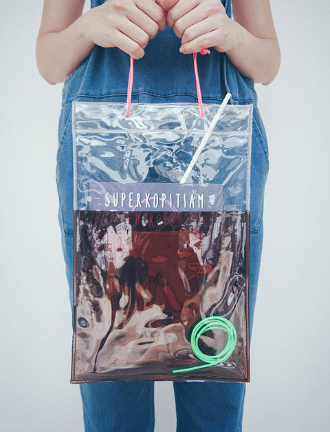 Wheniwafour Super Kopitiam Heroes Zine with Kopi Bag