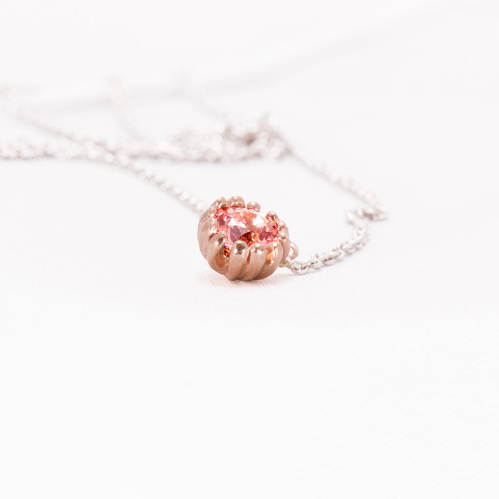 Tourmaline Blossom Necklace