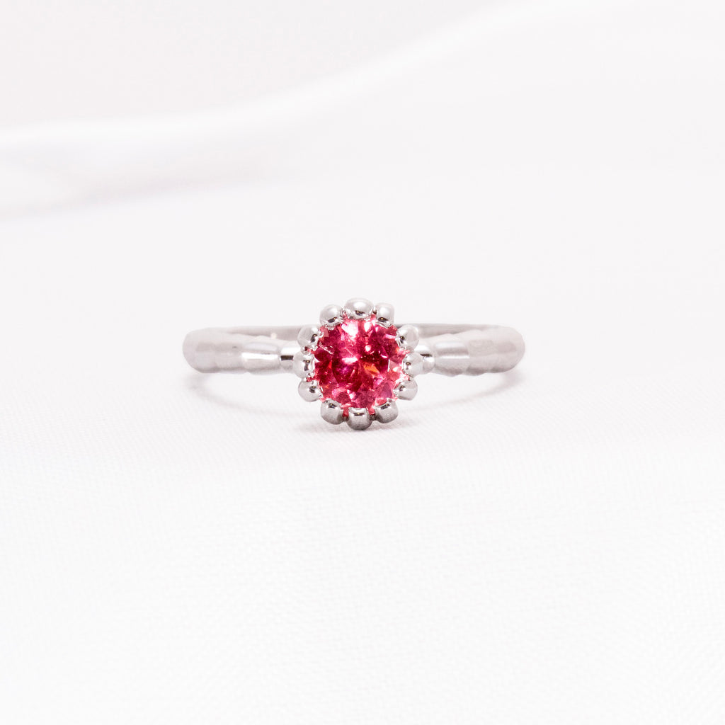 Tourmaline White Gold Ring