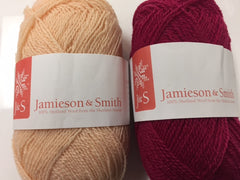 Jamieson & Smith 2 ply Lace, 25 gm balls