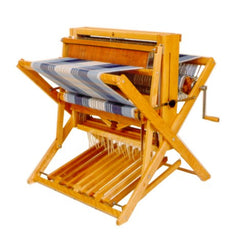 "Leclerc Compact 24"" Floor Loom, 4 harness and accessories"