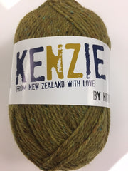 Kenzie, Wool blend, tweed yarn, 50 gm (1.75 oz)