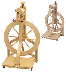 Schacht Matchless Spinning Wheel with accessories