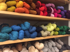 Harrisville Shetland Yarn, 50gm/1.75oz skeins