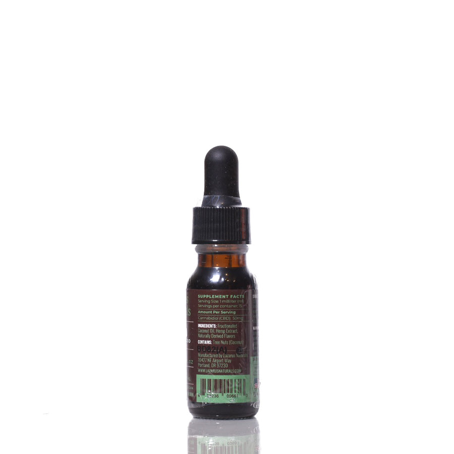 Lazarus Naturals - Chocolate Mint Flavored High Potency Full Spectrum CBD Tincture