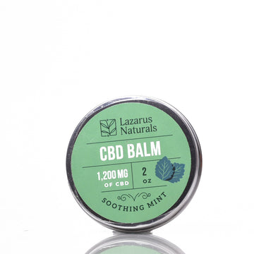 Lazarus Naturals - Soothing Mint Full Spectrum CBD Balm
