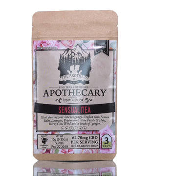 The Brothers Apothecary Hemp CBD Tea - Sensualitea