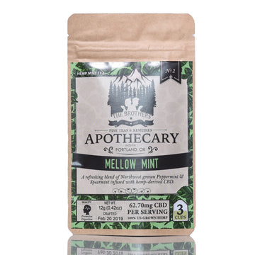 The Brothers Apothecary Hemp CBD Tea - Mellow Mint