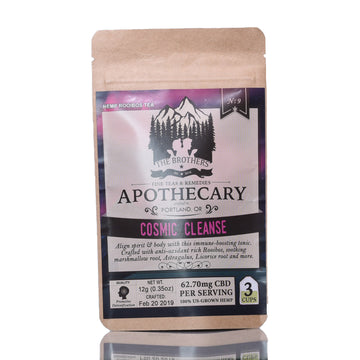 The Brothers Apothecary Hemp CBD Tea - Cosmic Cleanse