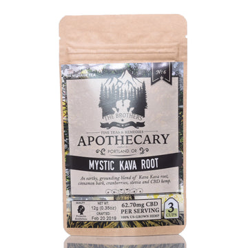 The Brothers Apothecary Hemp CBD Tea - Mystic Kava Root Tea