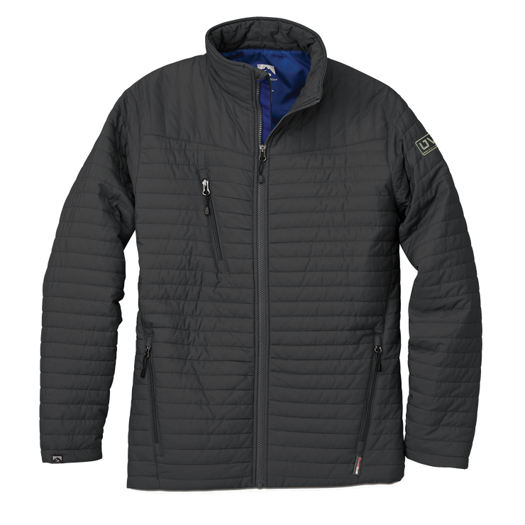 MEN'S STORM CREEK ECO-INSULATED QUILTED JACKET- Pleather Mono Patch