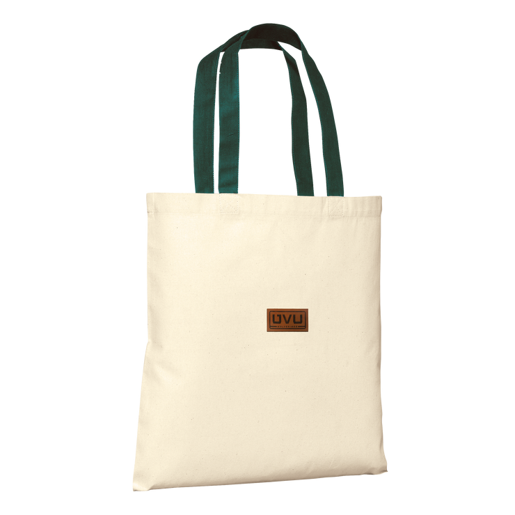 Port Authority Tote- Pleather Mono Patch