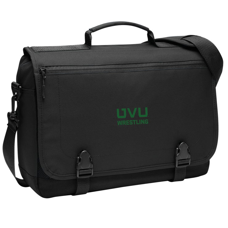 Port Authority Messenger Briefcase - UVU Wrestling