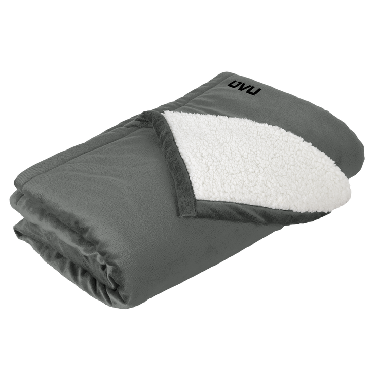 Port Authority Mountain Lodge Blanket- Mono Emb
