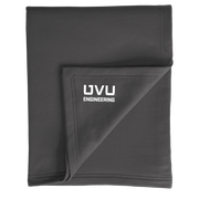 Port & Company Core Fleece Sweatshirt Blanket- UVU Engineering