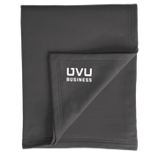 Port & Company Core Fleece Sweatshirt Blanket- UVU Business