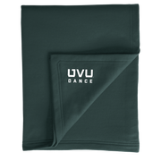 Port & Company Core Fleece Sweatshirt Blanket- UVU Dance