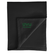 Port & Company Core Fleece Sweatshirt Blanket- UVU Volleyball