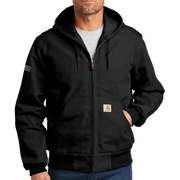 Carhartt Thermal-Lined Duck Active Jac - Pleather Mono Patch