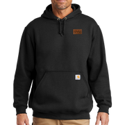 Black Carhartt Midweight Hooded Sweatshirt