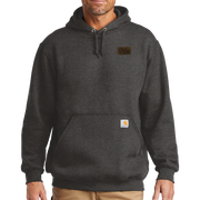 Carbon Heather Carhartt Midweight Hooded Sweatshirt