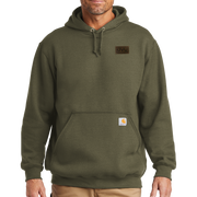 Carhartt Midweight Hooded Sweatshirt - Pleather Mono Patch