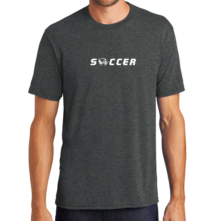 District Perfect Tri Tee - Soccer Head