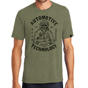 District Perfect Tri Tee- Automotive Skull