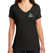 District Women's Perfect Tri V-Neck Tee- Mountain