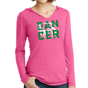 District Women's Perfect Tri Long Sleeve Hoodie- Wolverine Dancer
