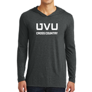 District Perfect Tri Long Sleeve Hoodie- UVU Cross Country