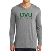 District Perfect Tri Long Sleeve Hoodie- UVU Golf