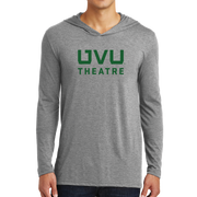 District Perfect Tri Long Sleeve Hoodie- UVU Theatre