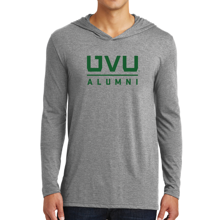 District Perfect Tri Long Sleeve Hoodie- UVU Alumni
