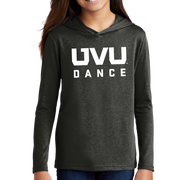 District Youth Perfect Tri Long Sleeve Hoodie - UVU Dance
