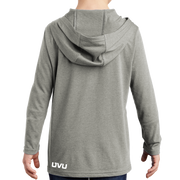 District Youth Perfect Tri Long Sleeve Hoodie - Mountain