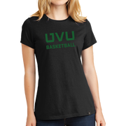 New Era Ladies Heritage Blend Crew Tee- UVU Basketball